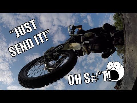 Grom Adventures Ep. 3 - My Worst Idea Yet! | Dirt Bike Jumps Over Me