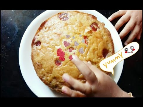 How To Make Cake In pressure Cooker -without oven cake recipe - cake recipe in malayalam/flipcart