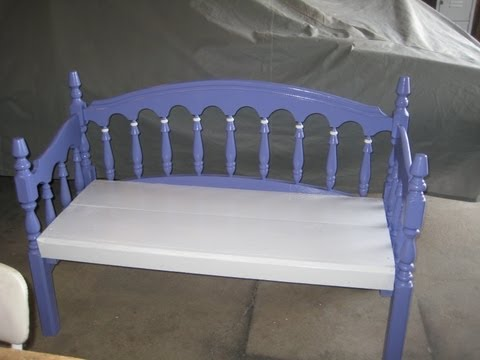 bed frame made into a bench for g-ma sharon_0001.wmv