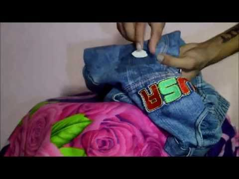 How to remove chewing gum from any kind of cloth