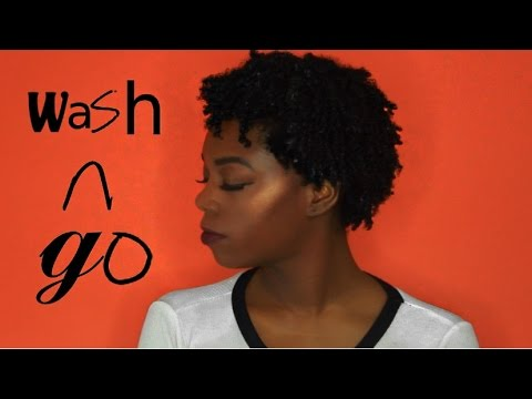 DETAILED WASH AND GO for 4C Natural Hair
