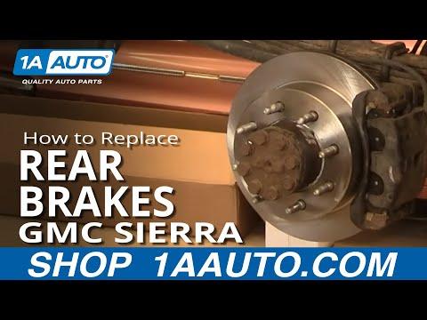 How To Do a Rear Brake Job Chevy Silverado GMC Sierra 2500HD 00-07 1AAuto.com