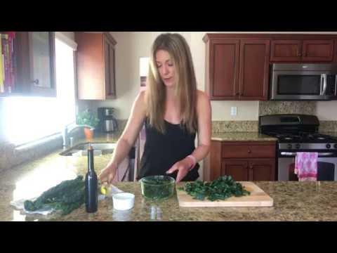 How to Make a Massaged Kale Salad