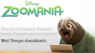 Flashs Faultier-Beamten-Witze - ZOOMANIA - Disney HD