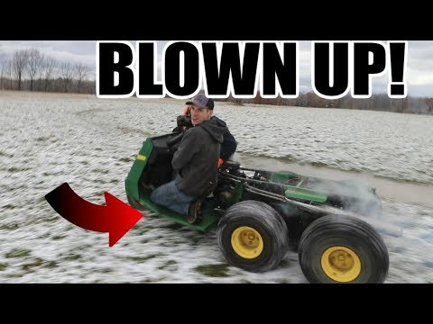 The New Gator Engine Blew Up!!