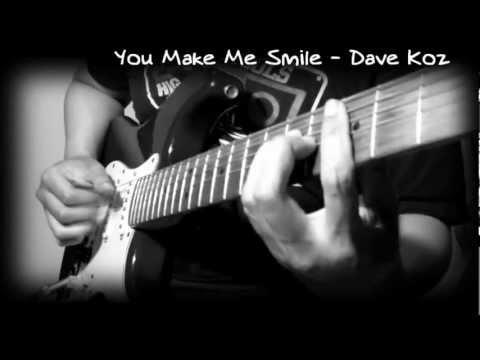 Dave Koz - You Make Me Smile (Guitar) (MrDyzzoink)