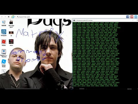 How to Make The Matrix In CMD(command-prompt)