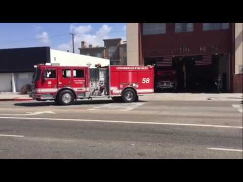 LAFD and LAPD 2016