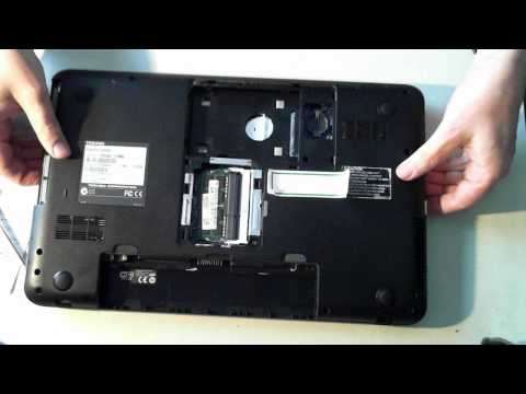 Toshiba Satellite C850D Disassembly