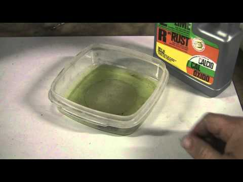 How to Easily Remove Rust with a Household Product. Great for Nuts and Bolts! CLR....