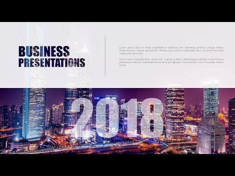 How To Create a Beautiful Business Performance Reporting Title Slide in Microsoft Office PowerPoint