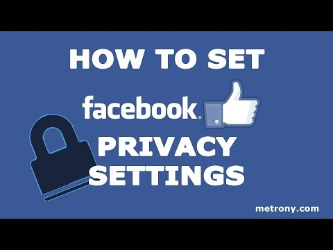 Facebook Privacy Settings - How to Edit