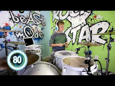 Play Drums in 5 minutes! Drumming lessons Beginner