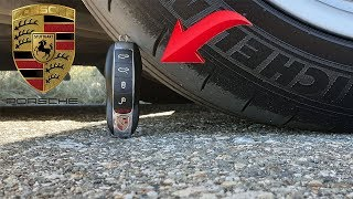 Experiment Porsche Car Vs Porsche Key