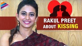Rakul Preet about Kissing | Rakul Preet Rapid Fire Interview | Telugu Filmnagar