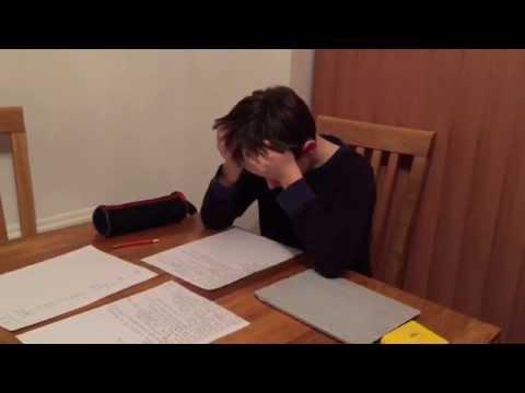Harvey's All-night Homework Session