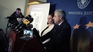 Florin Iordache - ministrul justiției - conferință de presă  30 ianuarie 2017