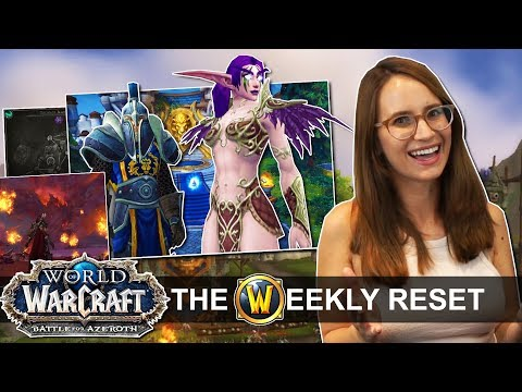 Classic Race Heritage Armor Hype & The Problem With BfA's Cutscenes : World Of Warcraft News