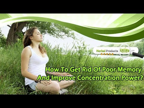 How To Get Rid Of Poor Memory And Improve Concentration Power?