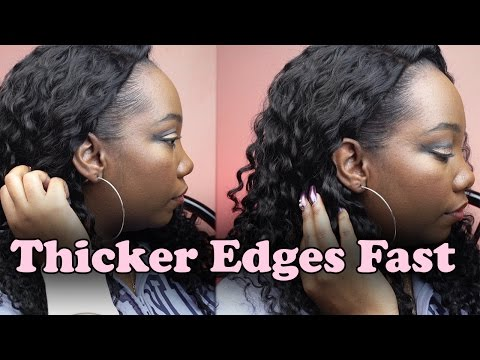 How to Thicken Edges Fast! | LongHairPrettyNails