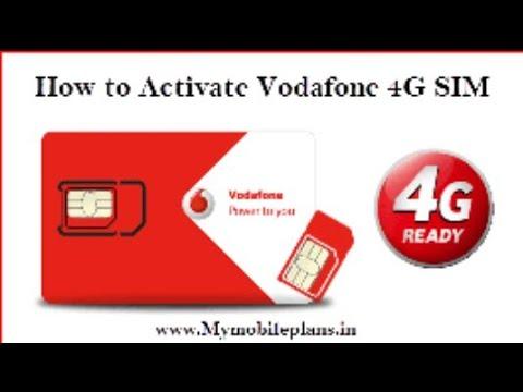 How to Upgrade Vodafone sim into 4G