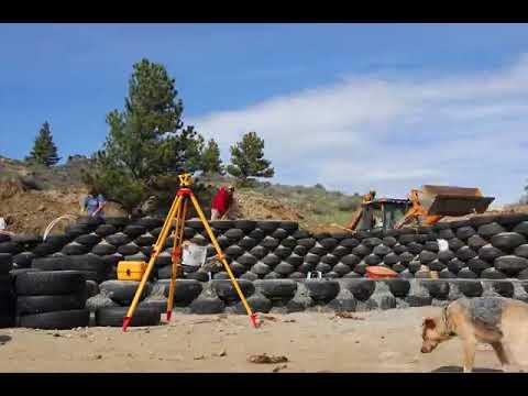 Earthship Construction