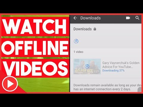 How To Watch YouTube Videos Offline Without YouTube Red