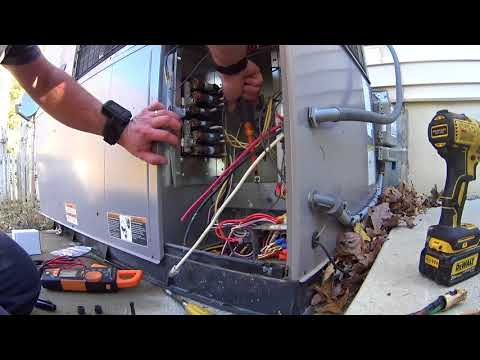11-17-17 Carrier Heatpump Package Unit Auxiliary Heat Issues