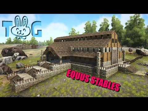 ARK: EQUUS STABLES [LETS BUILD]