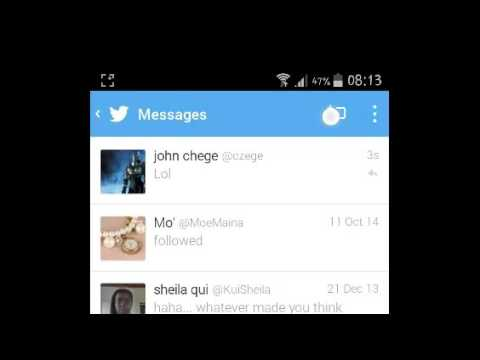 How To Direct Message On Twitter [Android]