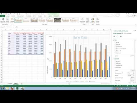 How to Add and Change Gridlines in your Excel 2013 Chart