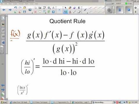 C 5 3 Quotient Rule
