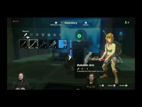 Sips  being incredibly bad at Zelda