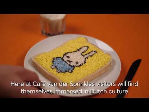 easyJet presents Café van der Sprinkles #WhyNot