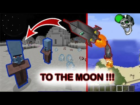 Minecraft: How to make a Working Rocket Ship *no mods*