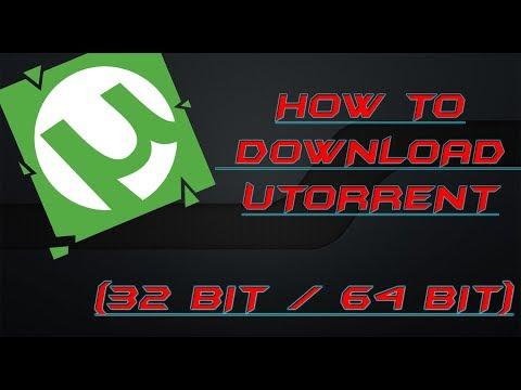 How to download Utorrent (32 BIT/64 BIT)