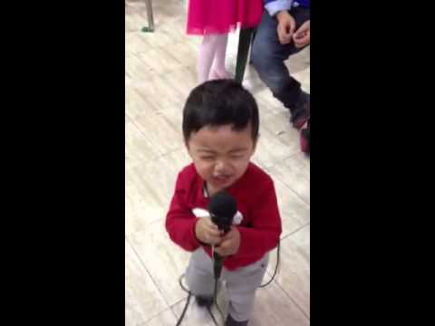 Daniel as a singer!
