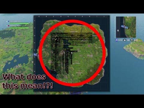 Crazy Fortnite Battle Royale Map *Bug*