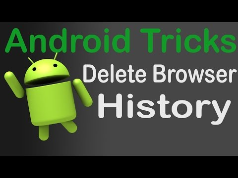 How To Delete Web Browser History In Android Phone ?