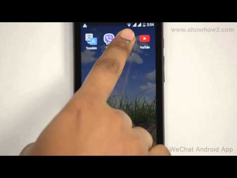 WeChat Android App - How To Change Your Password