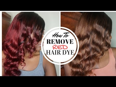 PRAVANA COLOR EXTRACTOR | How to Remove Red Hair Dye WITHOUT Bleach