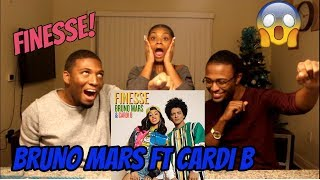 Bruno Mars - Finesse (Remix) [Feat. Cardi B] [Official Video] (REACTION)