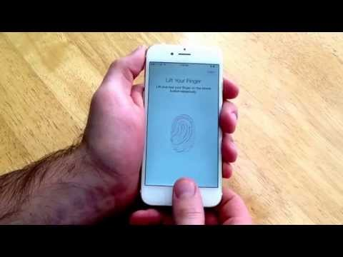 iPhone 6 / 6 plus - How to activate and deactivate Touch ID.