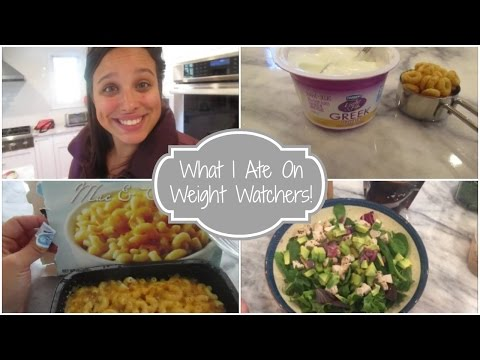 What I Ate! | Weight Watchers Smart Points | 10/10-10/11