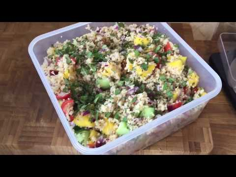 Slimming World Herby Couscous Salad