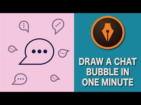How to Draw a Chat Bubble in Illustrator | #Illustratortutorials