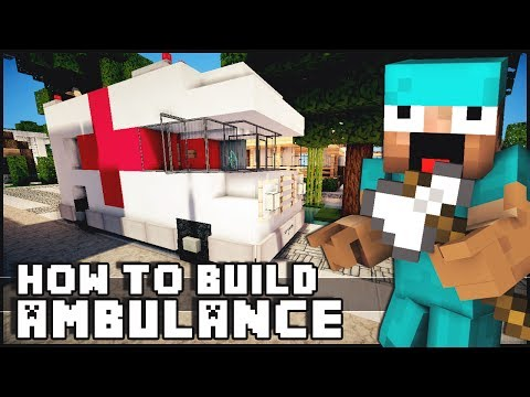 ► Minecraft : How to Make - Ambulance