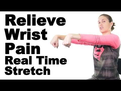 Relieve Wrist Pain with This Real Time Wrist Flexor & Extensor Stretch - Ask Doctor Jo