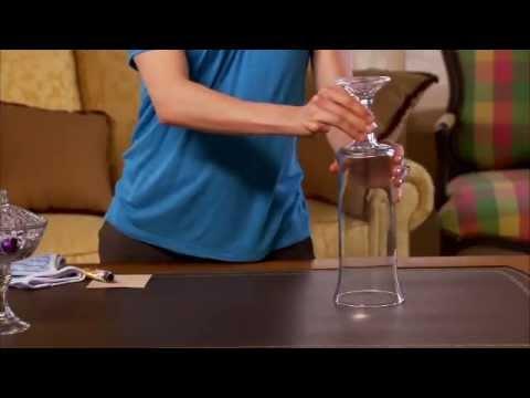 Dollar Tree Craft Idea -- Hurricane Vase