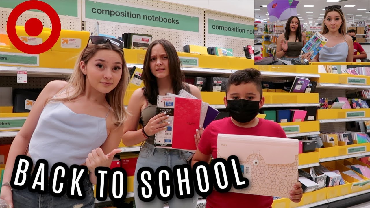 Taking my siblings BACK TO SCHOOL shopping